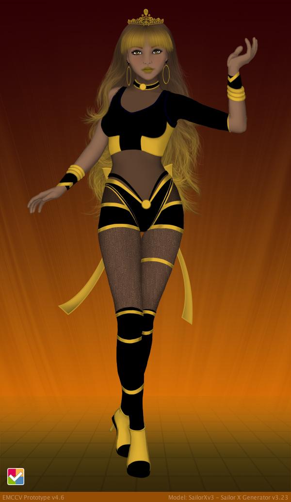 Sailor Senshi: Original Character ~Bee Hive~ by LaKiraRee