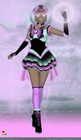 Sailor Senshi: Original Character ~Neon Glow~ by LaKiraRee