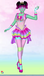 Sailor Senshi: Original Character ~Rainbow Candy~