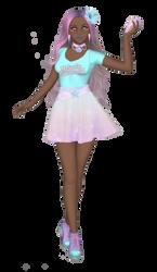 Sailor Senshi: Original ~Melanin Pastel Mermaid~