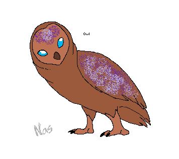 Owl hatchling by xXTheWeepingWillowXx