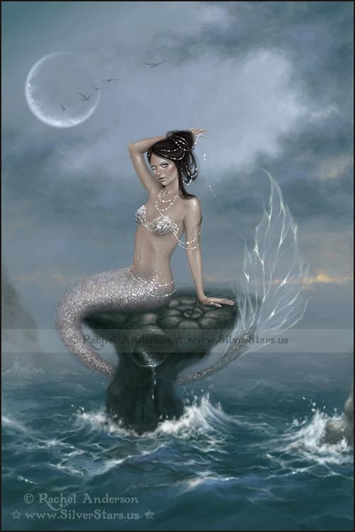 moon tide by twosilverstars