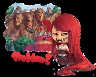 Kushina Troll Face by piinl