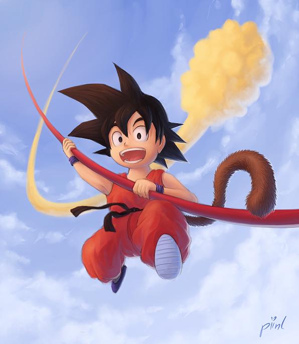 Goku by piinl