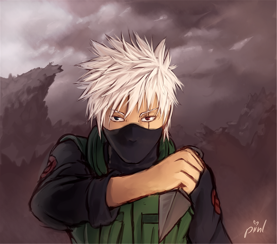 Kakashi - Speed Paint by piinl