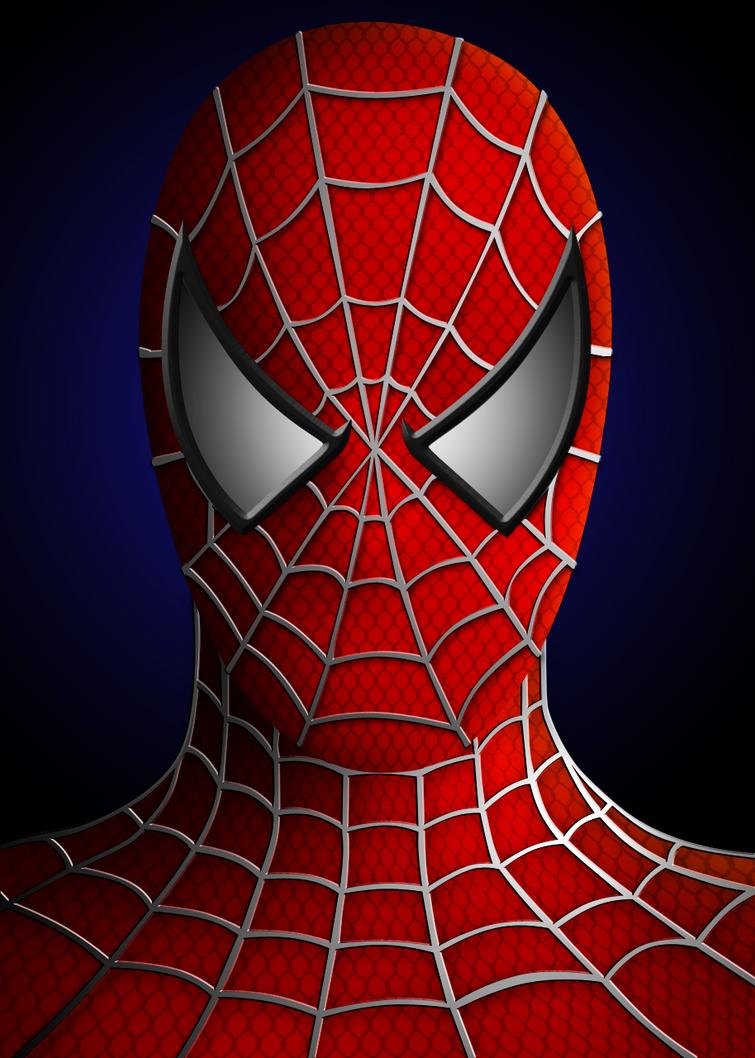 Generic Spiderman Portrait by Susyspider