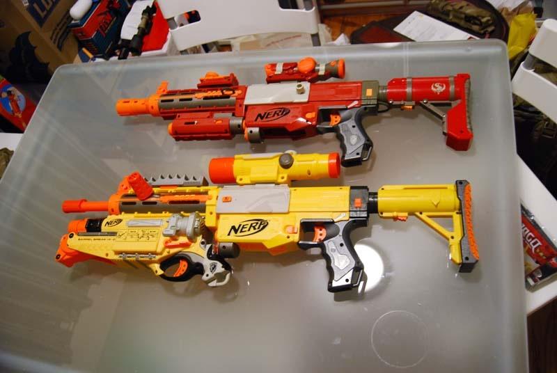 Nerf gun mod 1 by Willawsome ...