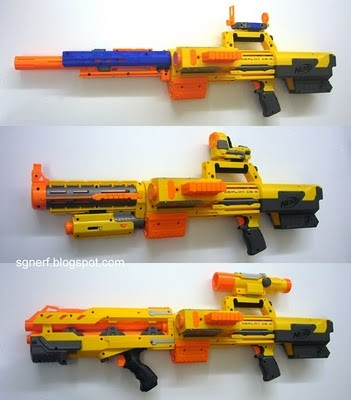 A 'Nerf Gun' - similar to the one which was the cause of the