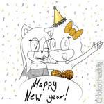 Happy New Years! Sara n' Choko