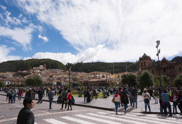 [00 028] Plaza Mayor del Cusco by FoxxScreechist