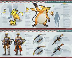 Pokemon Hunter: Raichu by PursuerOfDarkness