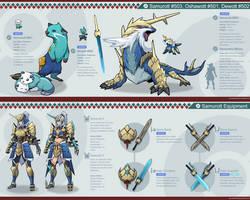 Pokemon Hunter: Samurott by PursuerOfDarkness