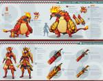 Pokemon Hunter: Magmortar