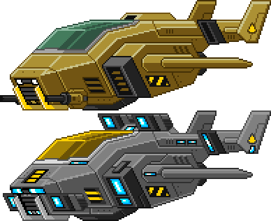 Starbound: Shuttles by PursuerOfDarkness