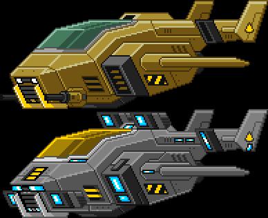 Starbound: Shuttles by PursuerOfDarkness on DeviantArt