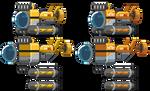 Starbound: Exploration Submarine Spritesheet