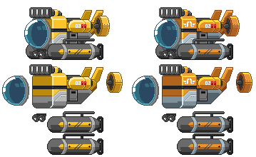 Starbound: Exploration Submarine Spritesheet by PursuerOfDarkness