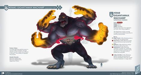 Pocket Monster Hunter #03: Gigantamax Machamp