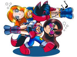 Return of the Chibi Team by zorro-zero
