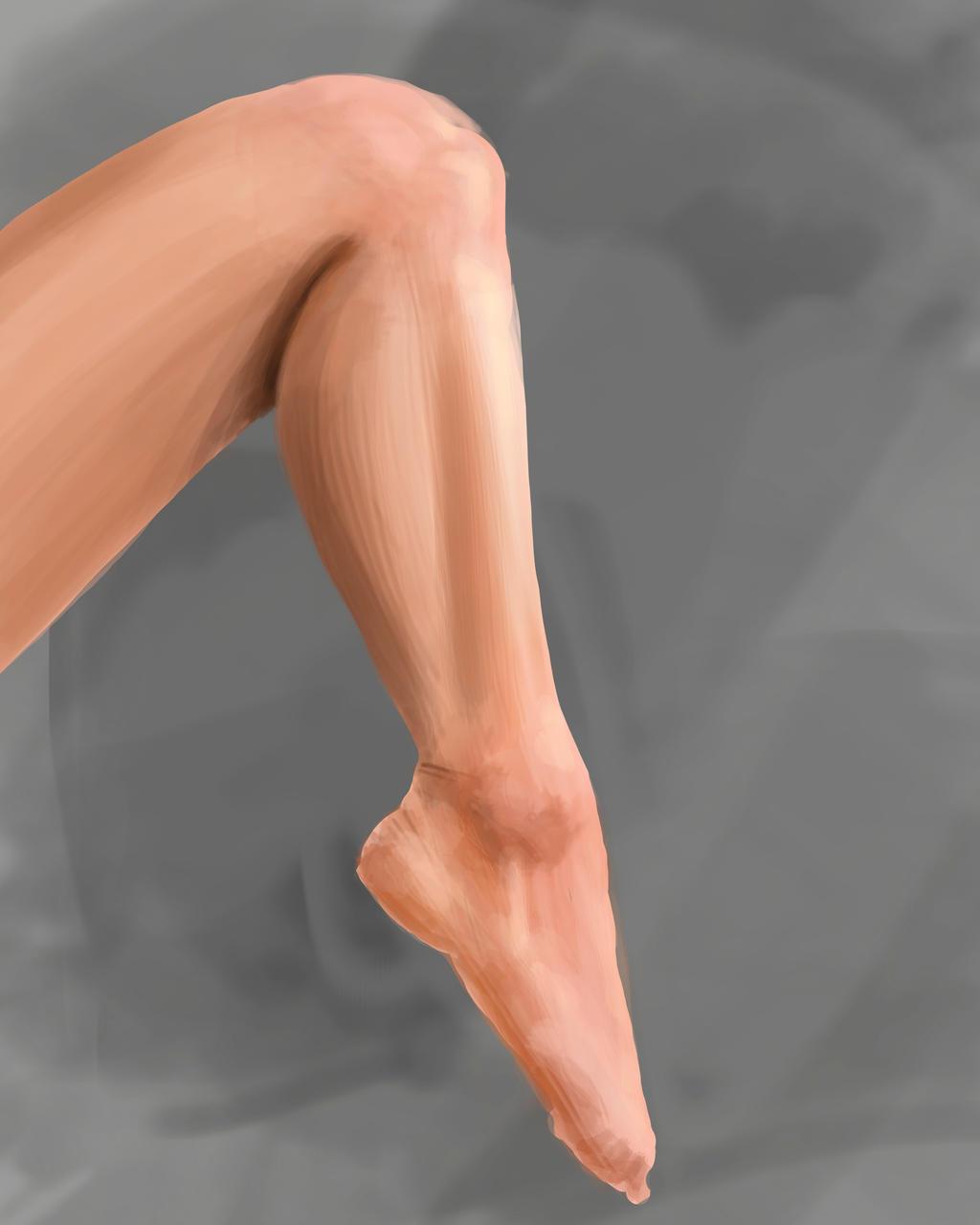 Leg study by MillionPM