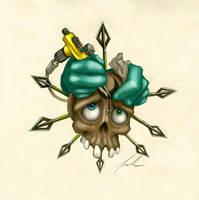 Tattooed Chaoskull by MillionPM
