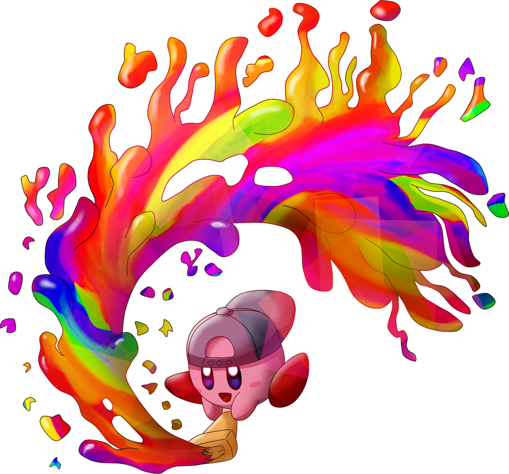 Paint Kirby by MudSaw
