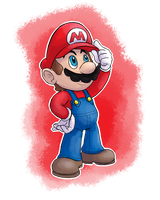 Mario by MudSaw