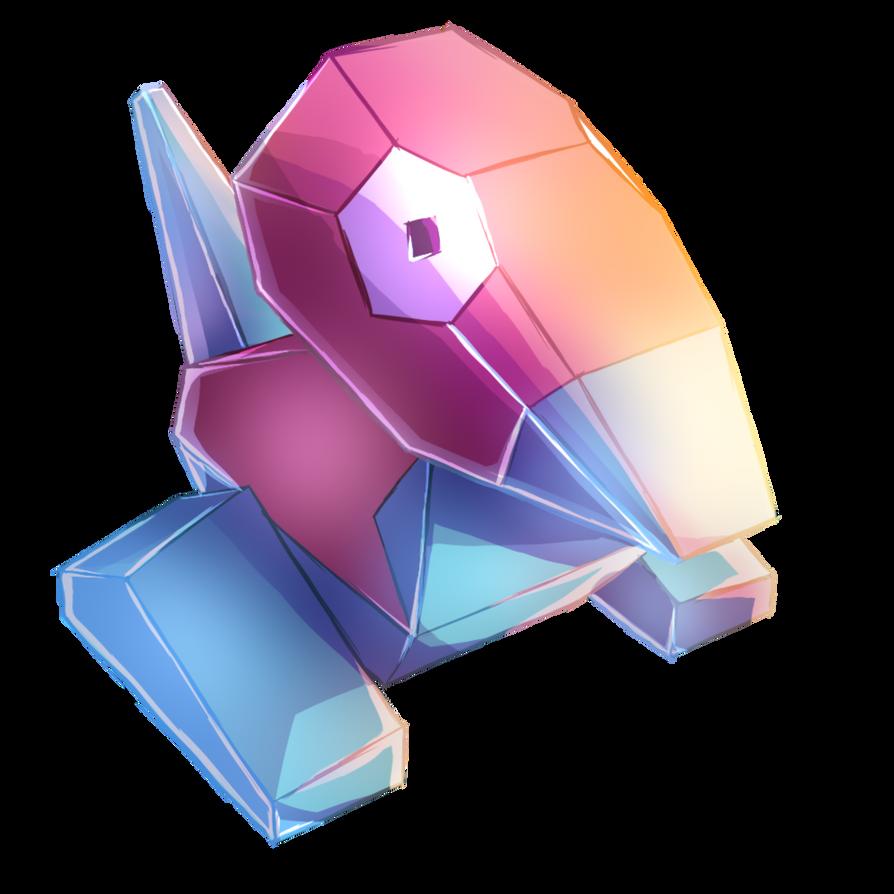 Porygon by MudSaw