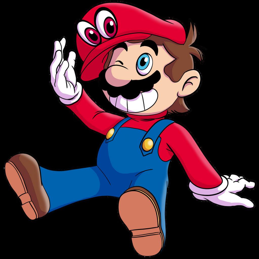 Super Mario Odyssey by MudSaw