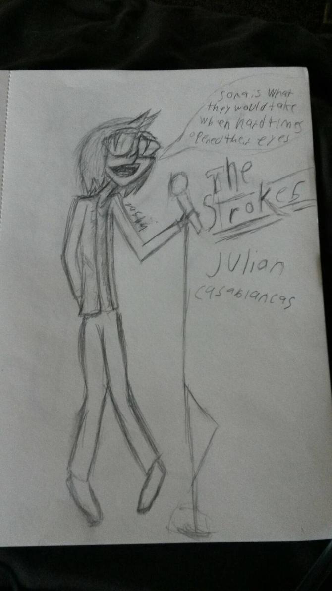 Julian casabancas by cynicaltseter