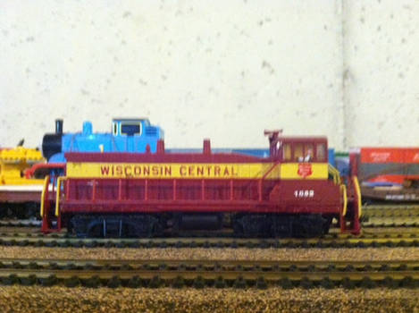Wisconsin Central SW1500