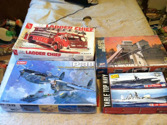 My kits to be built