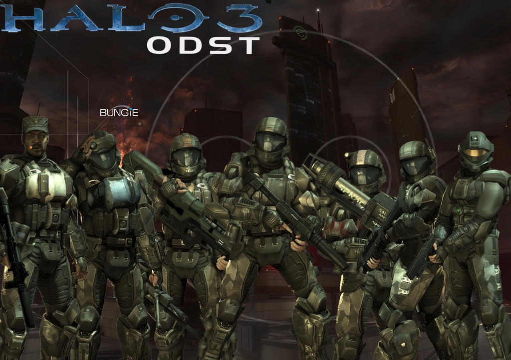 halo odst wallpaper. Halo 3: ODST Wallpaper by