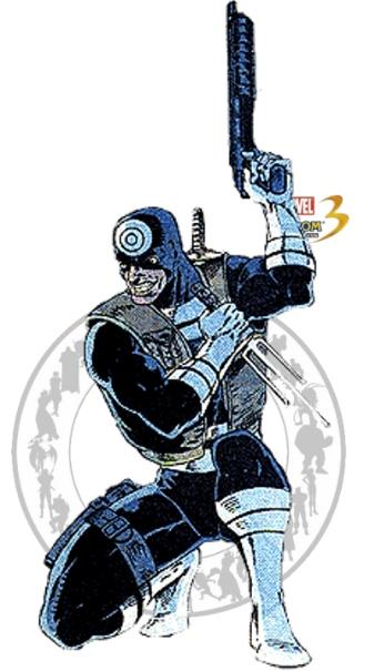 Bullseye - Marvel vs Capcom 3 by AverageSam on DeviantArt