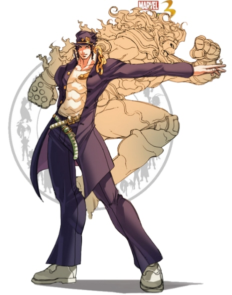 Jotaro Kujo - MarvelvsCapcom 3 by AverageSam