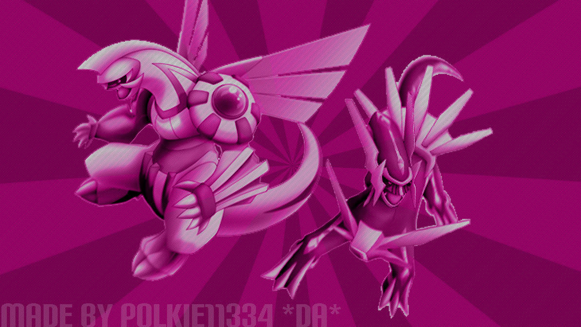 Pokemon Diamondpearl Dialgapalkia Wallpaper By