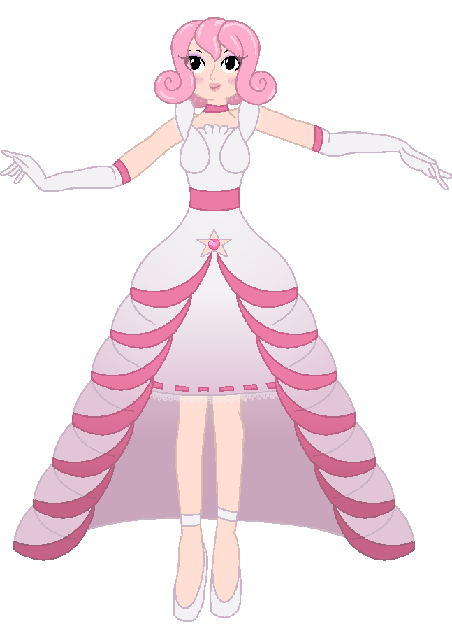 Steven Universe OC - Rose Quartz by Miss-Dew-Drop