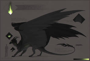 Amaret | Reference Sheet by Haskiens