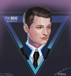 Detroit : Become Human Connor #2 by viwig