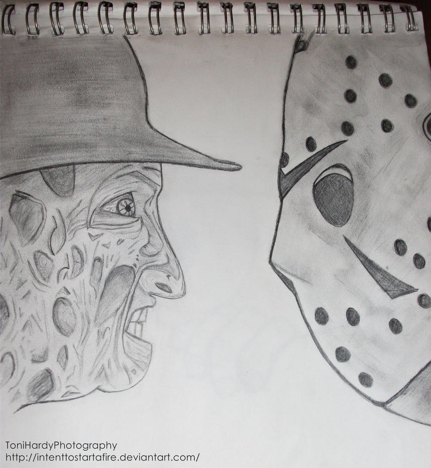 Freddy vs Jason by IntentToStartAFire on DeviantArt