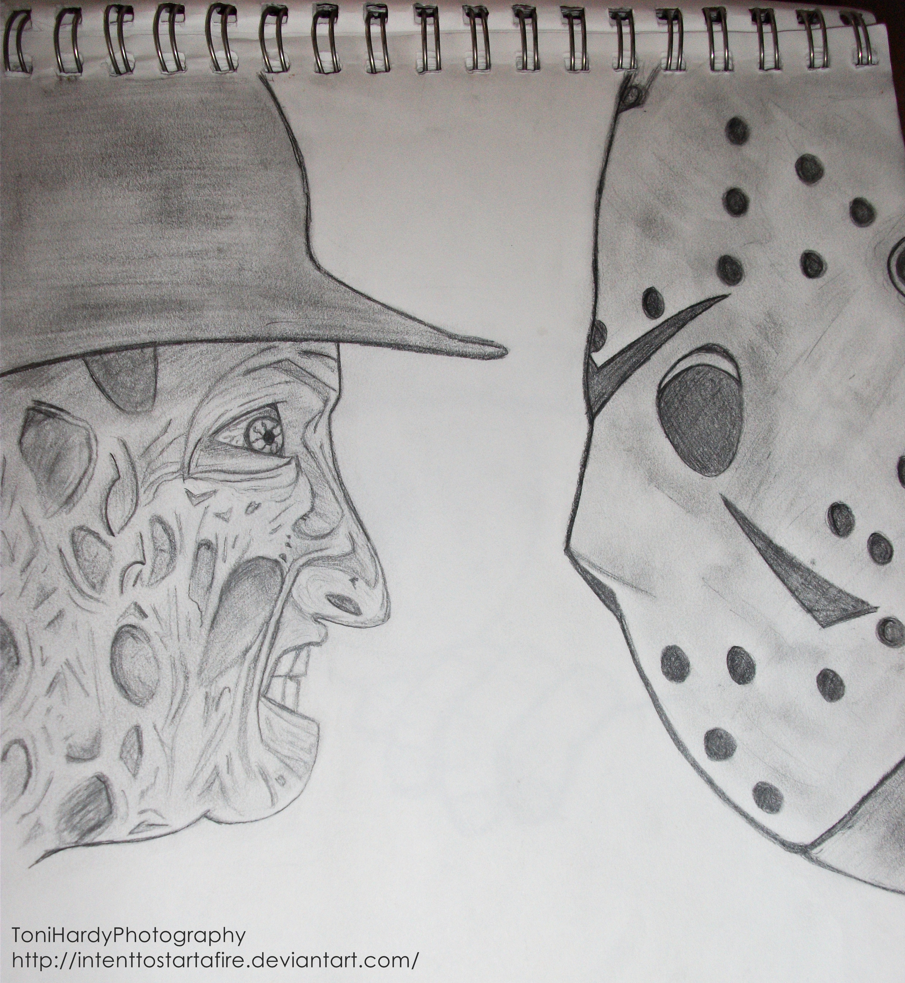 Michael Myers Amp Jason Voorhees Speed Art YouTube