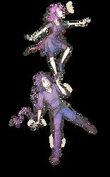 Acrobats by PurpleMistPepper