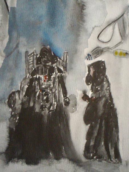 Vader is born by AzureAngel2ihrs