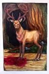 The Deer Has Lost Its Skull by Denigirl