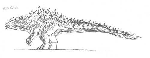 MH (Space) Quartz Godzilla by KitWhitham