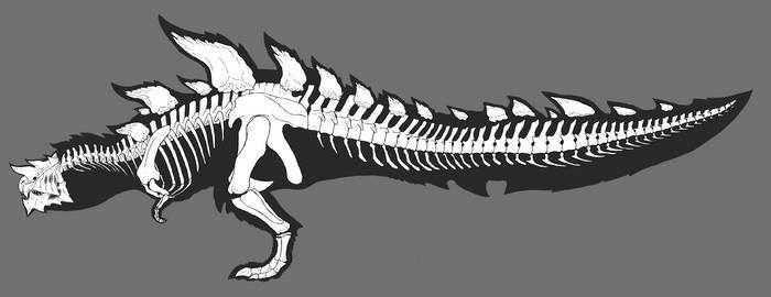 Glavenus Skeleton