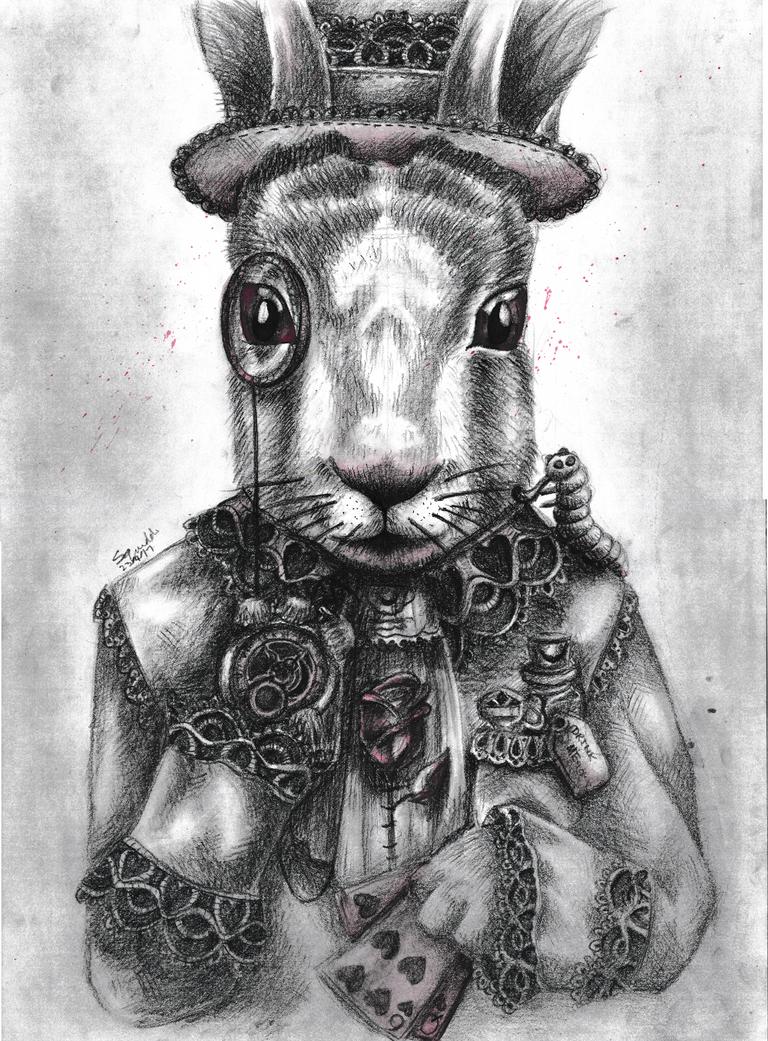 White Rabbit by Squiddosnazz