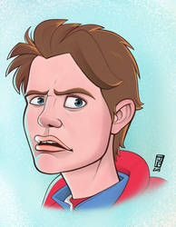 Back to the Future Tribute: Marty McFly