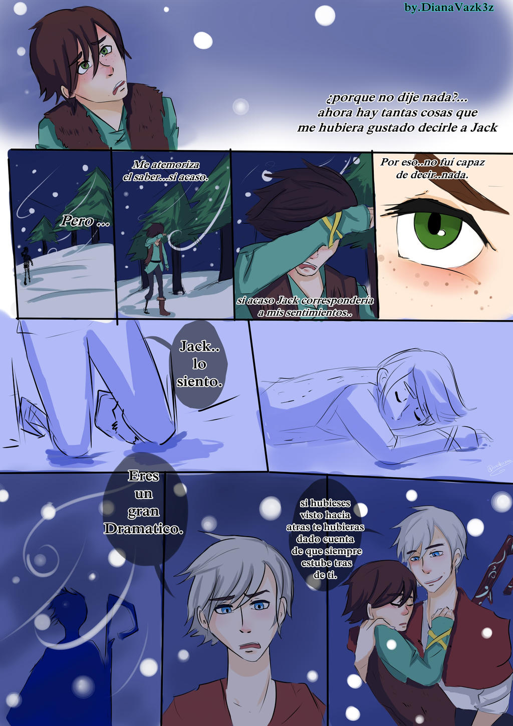 Hiccup x jack frost yaoi fanfiction jack x hiccup 007 by how to