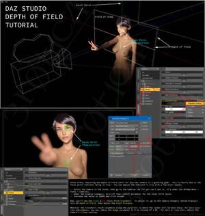 DAZ Camera DoF (Depth of Field) Tutorial